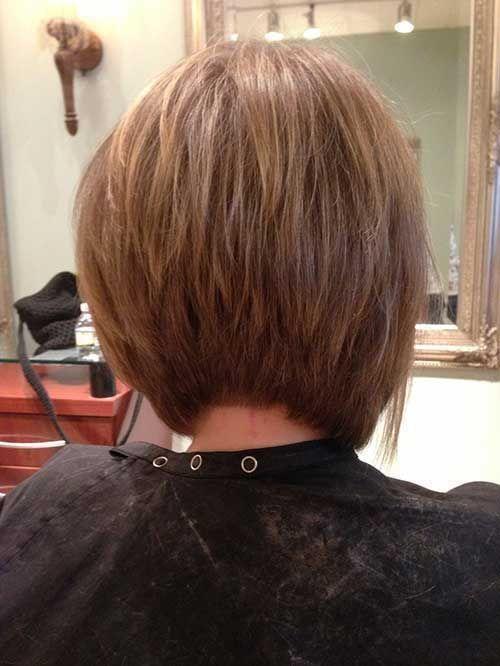 Bob Haircut And Hairstyle Ideas Back Of Bob Haircut Hair Styles Inverted Bob Hairstyles