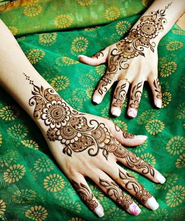 40 Gorgeous Henna Ideas From Intricate To Elaborate: 40 Beautiful Mehandi Designs For Weddings