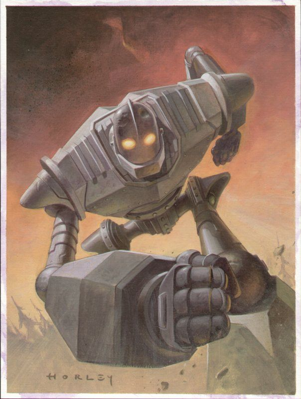 The Iron Giant by Alex Horley