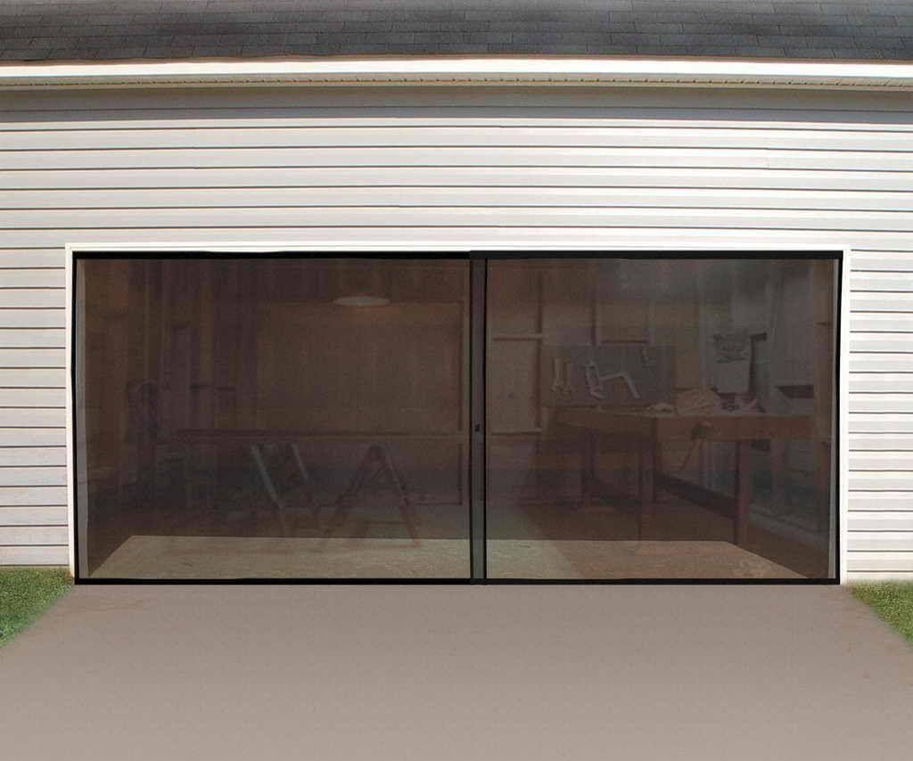 Instant Garage Door Screen Instant Garage Garage Doors And Screens