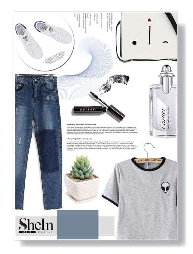 """""""Into the Heaven"""" by deepalika-deb ❤ liked on Polyvore featuring adidas Originals, Lulu Guinness, Bobbi Brown Cosmetics, Cartier, Balmain, contestentry and shein"""
