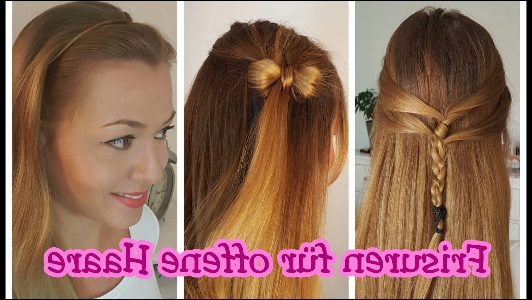 Schöne Frisuren Für Offene Haare Youtube Frisuren Für