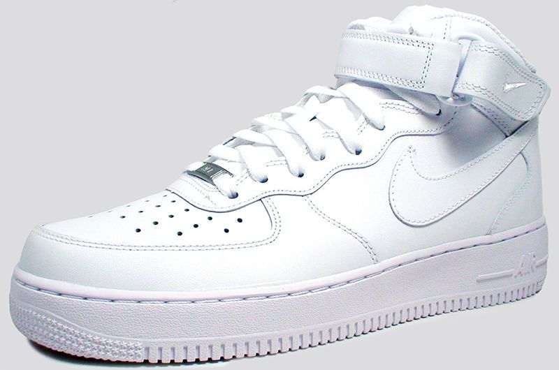 best website 7a7f2 c33c9 Nike AIR FORCE 1 MID  07 315123-111 WHITE WHITE sz 9