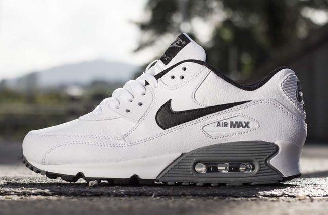 promo code d32af 17cc0 ... Buty Nike Air Max 90 Premium Leather (GS) (724871-001) Worldbox ...
