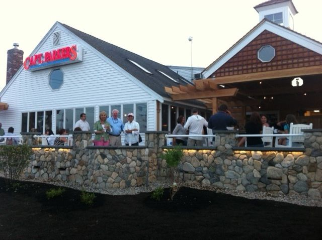 Congratulations To Gary Manning And The Stafff At Captain Parker S On The Opening Of Their Water View Pa Yarmouth Cape Cod Restaurants Outdoor Restaurant Patio
