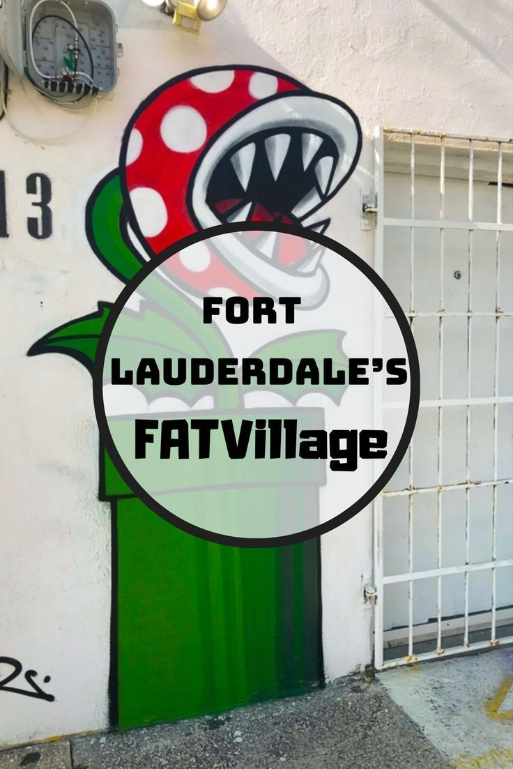 Hitting up Fort Lauderdale's FATVillage in the New 2018