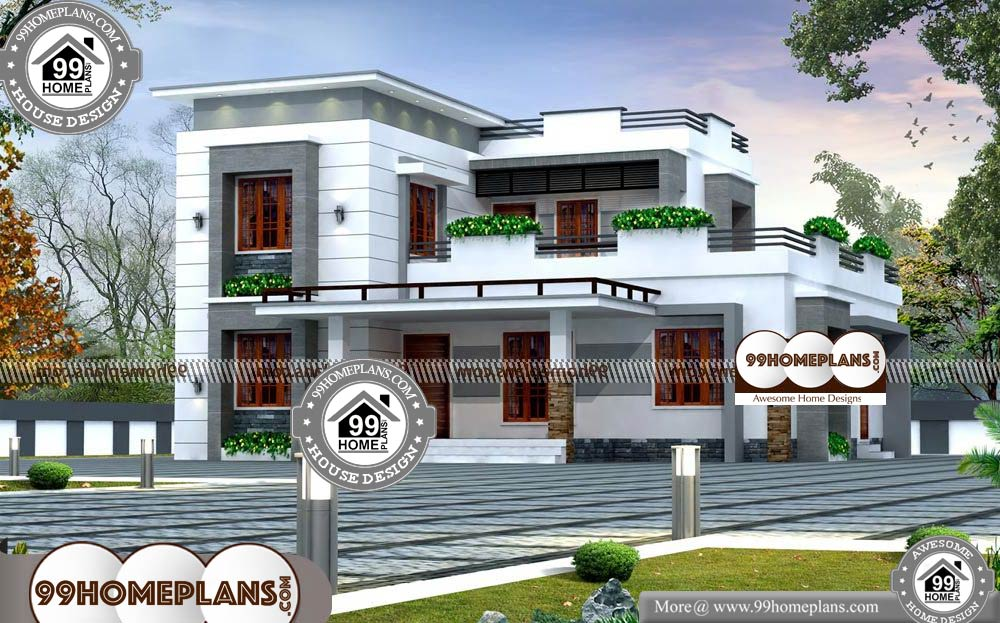 Small Luxury House Plans With Photos 100 Modern Two Story Homes In 2020 House Plans With Photos Small House Design Philippines Luxury House