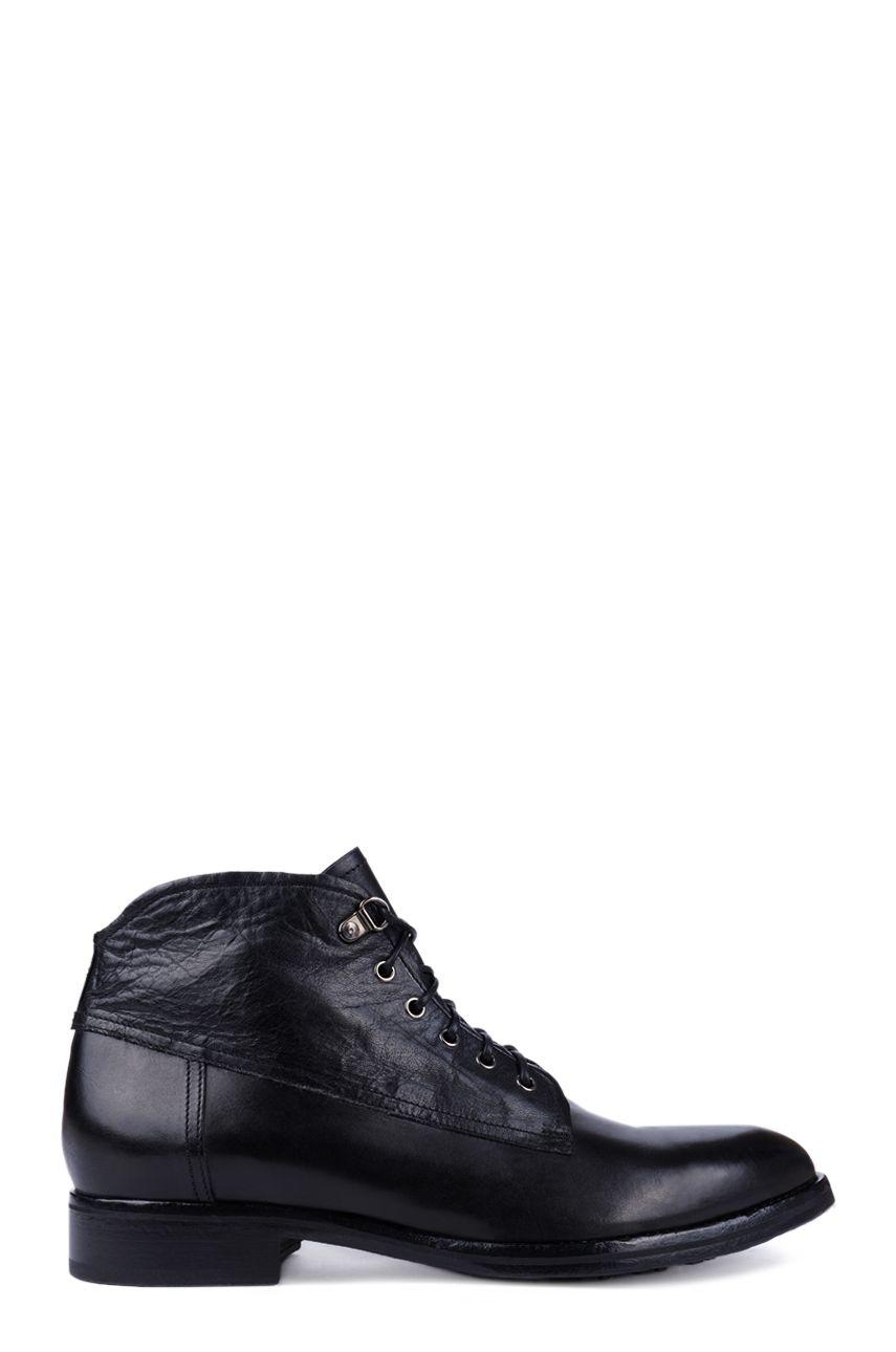 Symbol Mb2078 Sko Cgcg 9999 0 Typ Botki Kolor Czarny Czarny Material Skora Cieleca Licowa Skora Cielec Dress Shoes Men All Black Sneakers Oxford Shoes