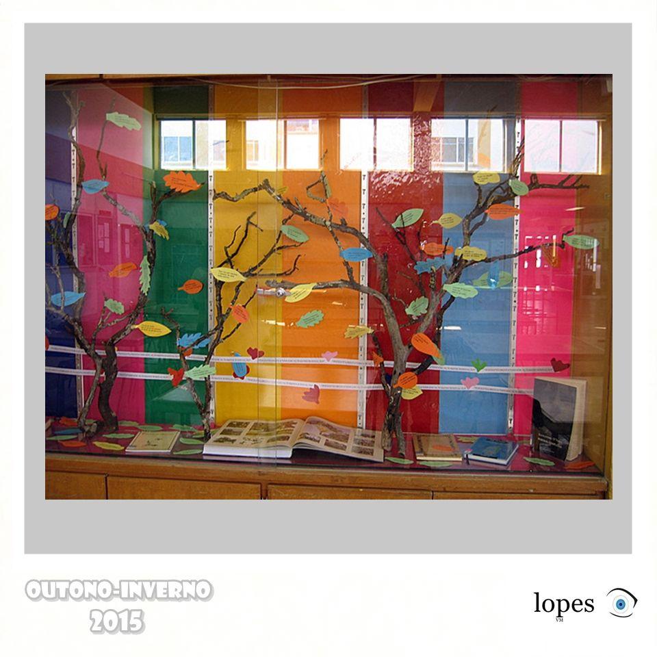 Arte na vitrine