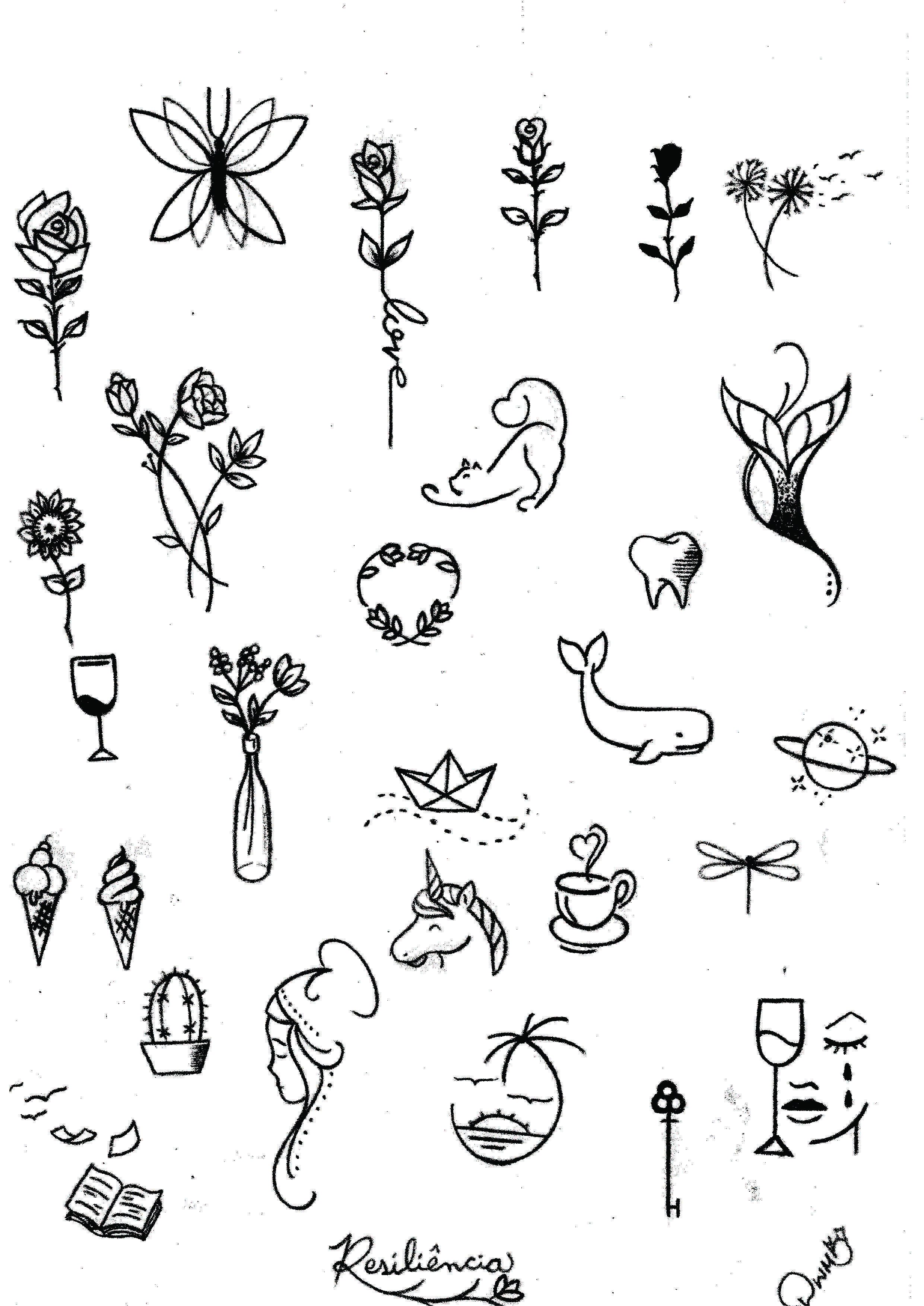 Cute Little Doodle Drawing Ideas For Bullet Journal Little Doodles Small Tattoos Cute Doodles