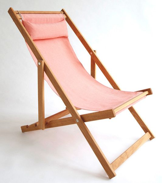 Gray Grey Outdoor Fabric Sling Deck Chair Patio Furniture Gallant And Jones
