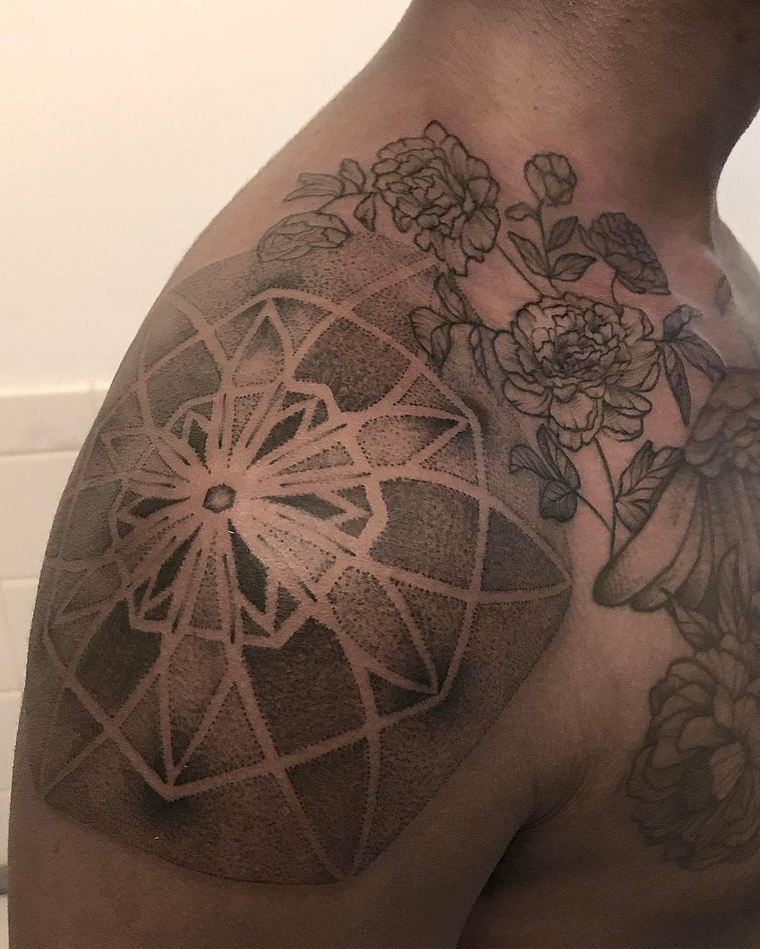 Brooklyn tattoos geometric tattoo geometric