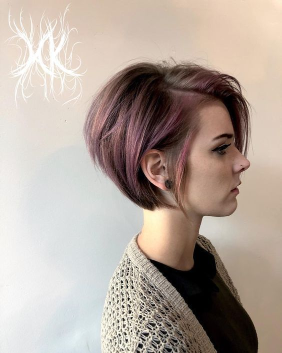 42 Best Short Hairstyles Ideas For Beautiful Women Short Hair Colors Hair Styles Thick Hair Styles Short Hair Styles
