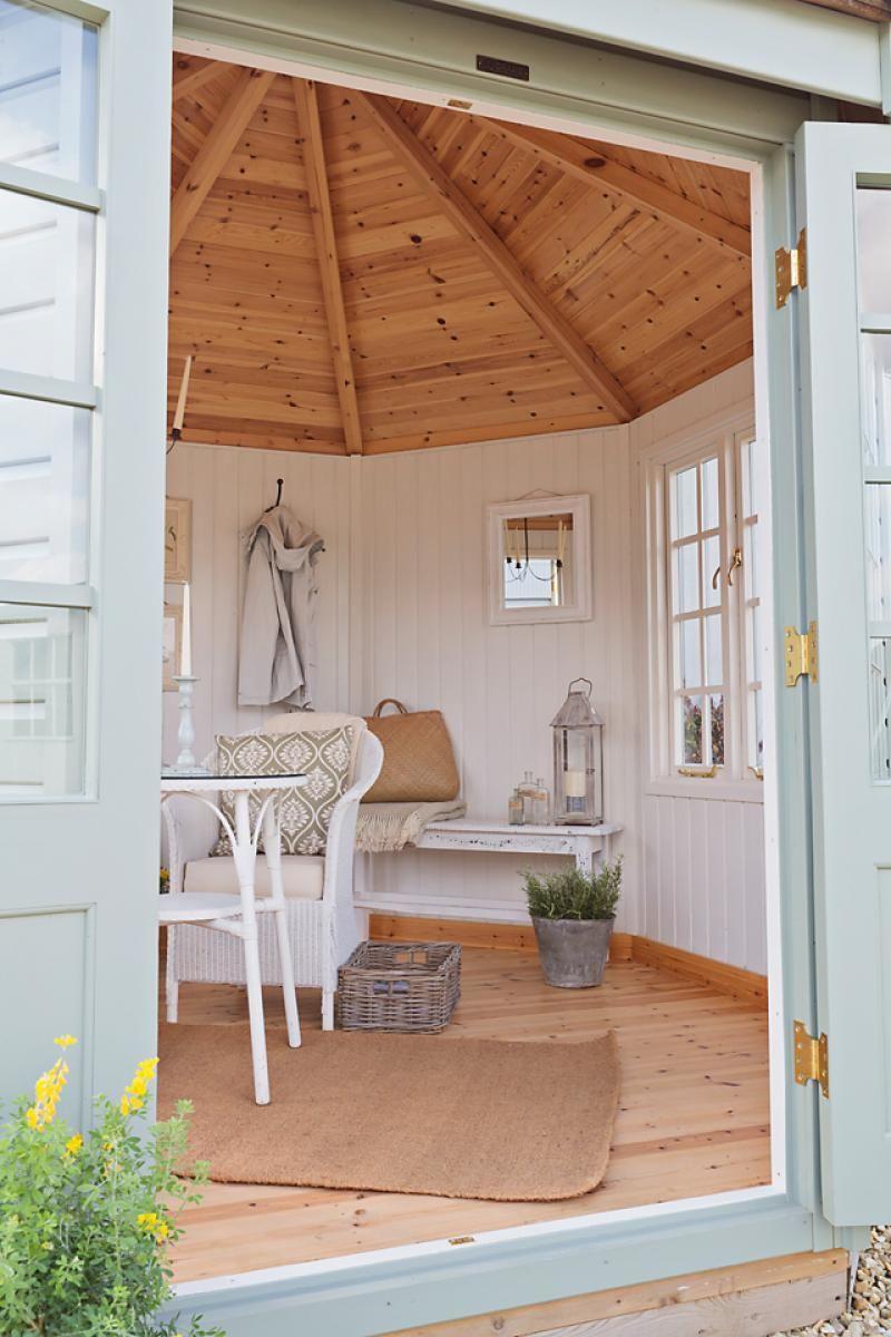 wiveton-summerhouse-white-interior   Corner summer house ...