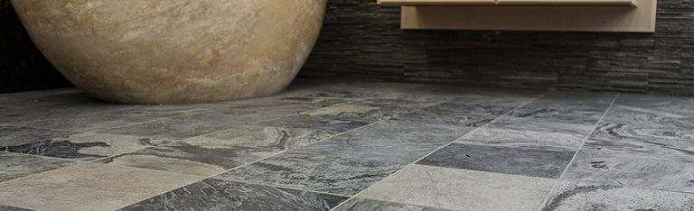 Durable Quartzite Floor Tiles Are Ideal For A Conservatory Floor