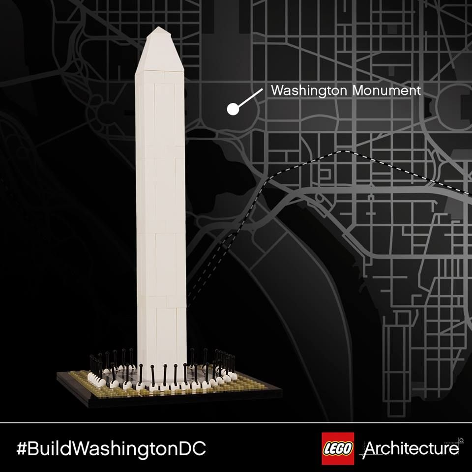 Check out five brand new LEGO Architecture models