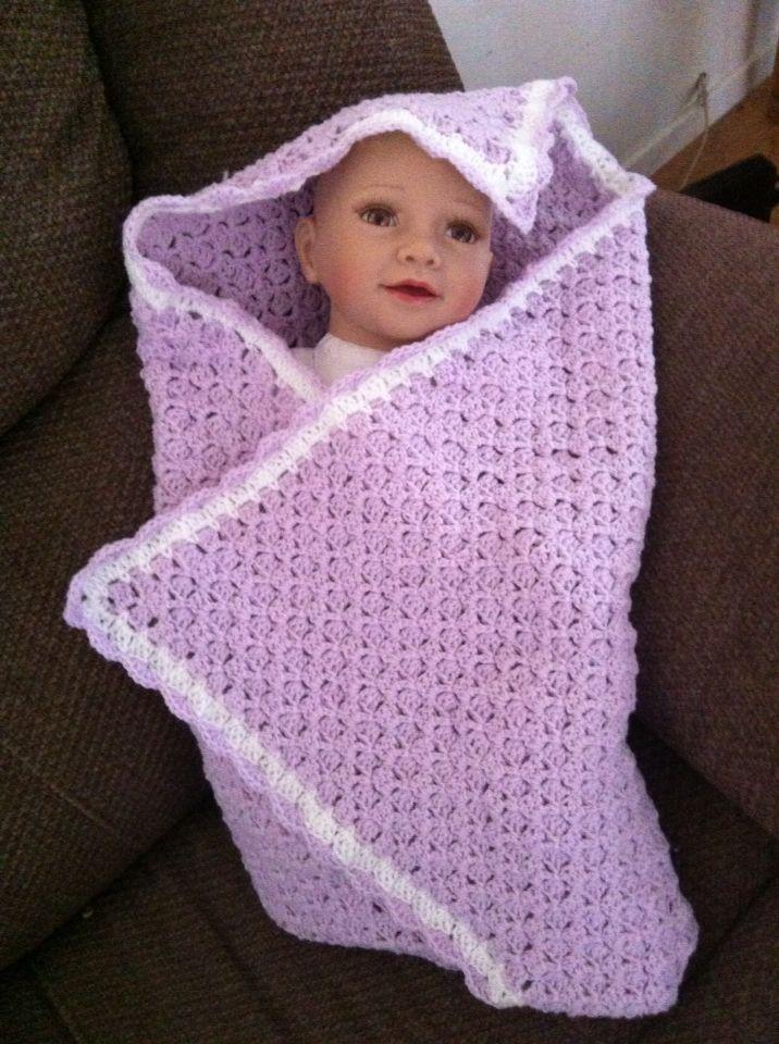 Crochet C2C with Scalloped Border