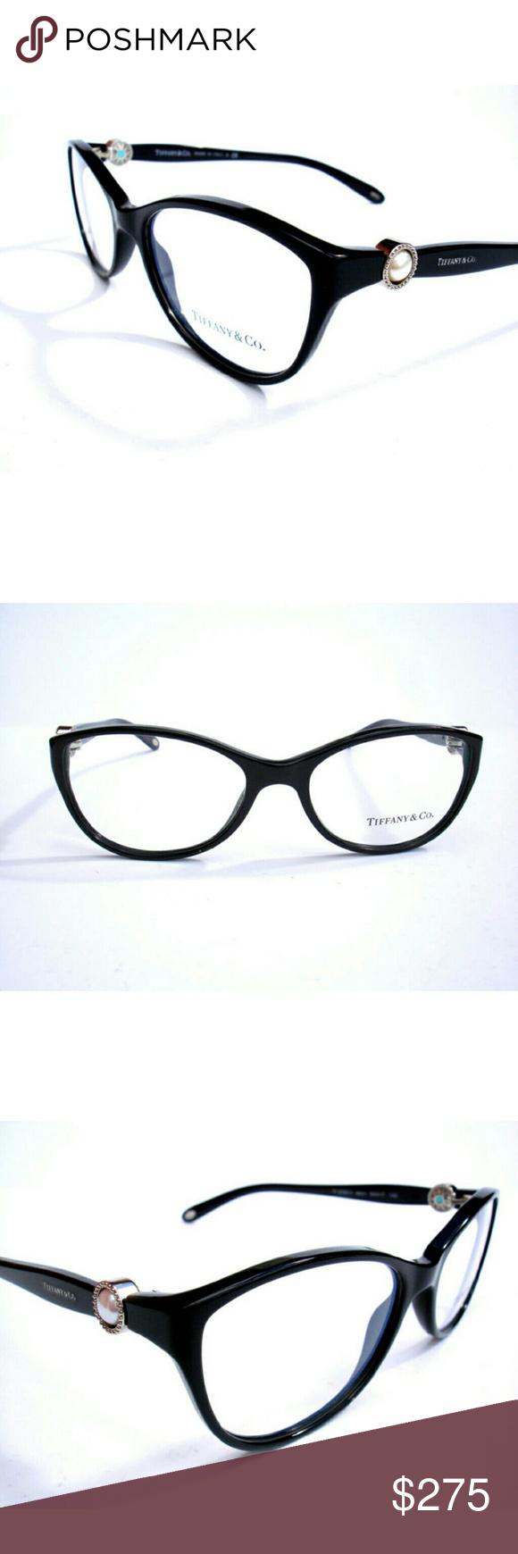9b2d8a3393eb Tiffany   CO Eyeglasses Tiffany   Co Eyeglasses Authentic Black frame Size  54-17-