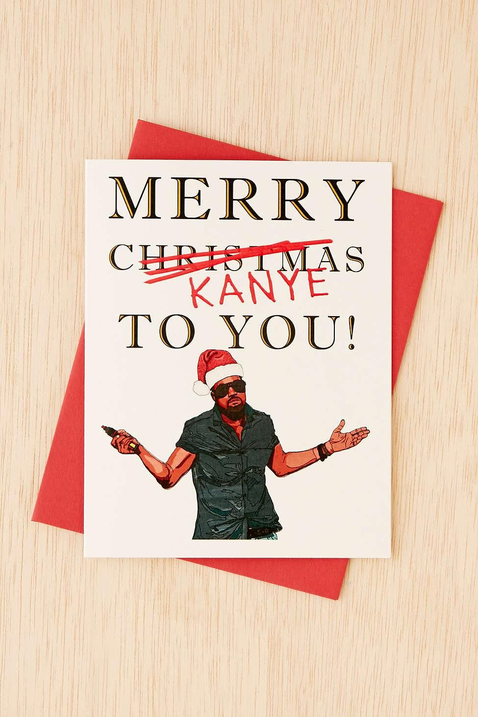 15 witty holiday cards that wont make you cringe holidays funny merry kanye funny holiday cards that wont make you cringe stylecaster m4hsunfo Gallery