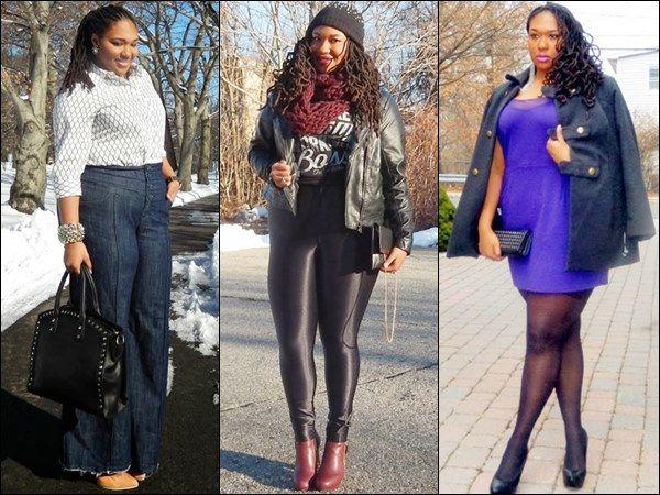 Shainna Tucker Fall Winter Plus Size Outfits | Big Girl Fashion ...
