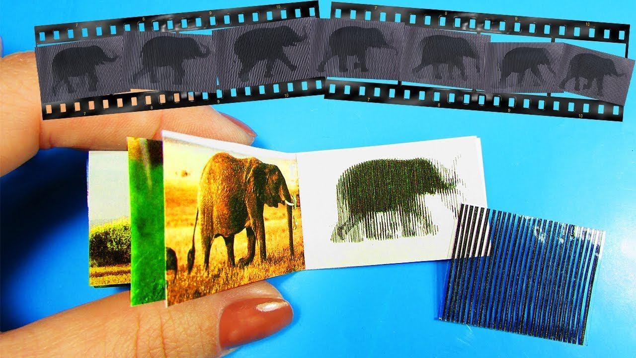 tutorial miniature (moving) animals picture book Animal