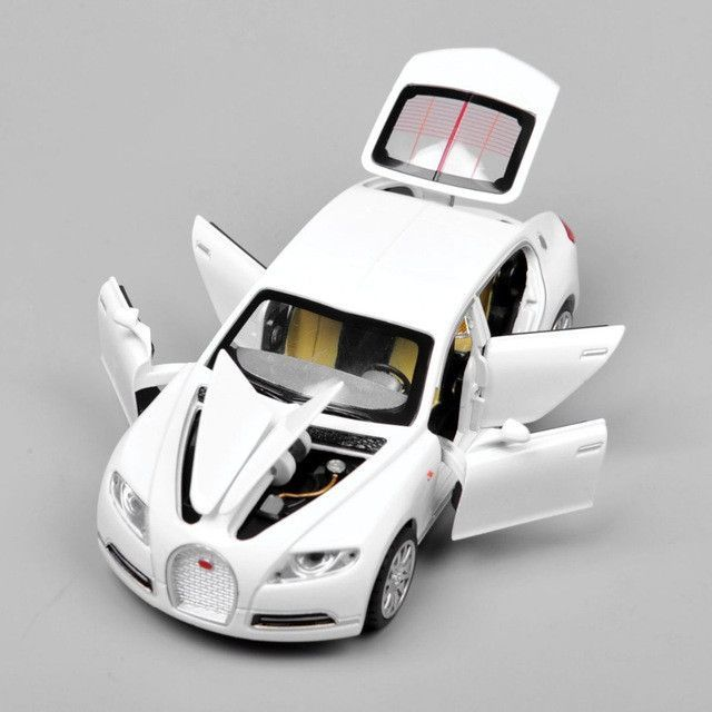 Collectible Alloy Diecast 1/32 Bugatti Veyron 16C Galibier Electronic Light  Sound Pull Back Cars Model Kids Toys For Boys Outdoor | Products |  Pinterest ...