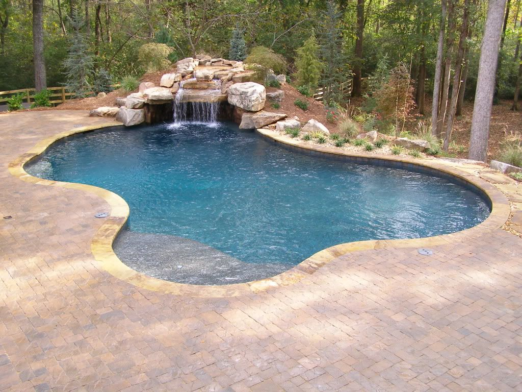Price of Grotto - Pools & Spas Forum - GardenWeb  Grotto pool