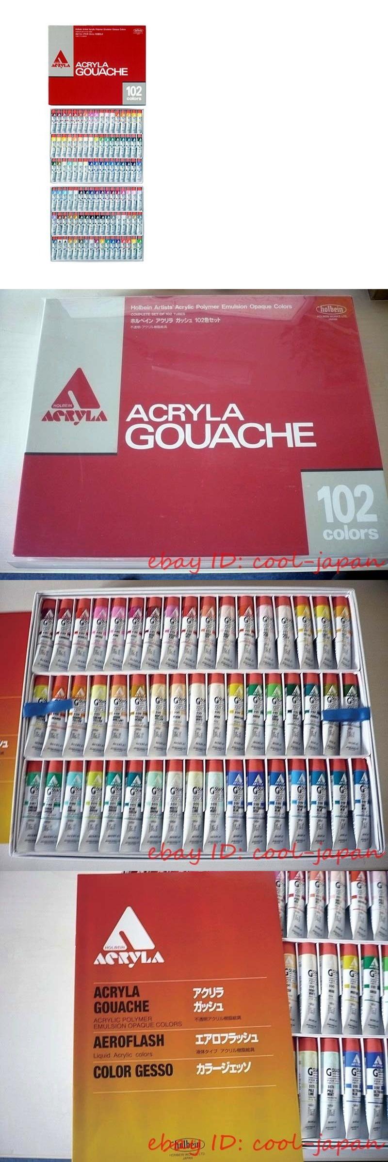 gouache 134558 made in japan holbein acryla gouache 102 colors
