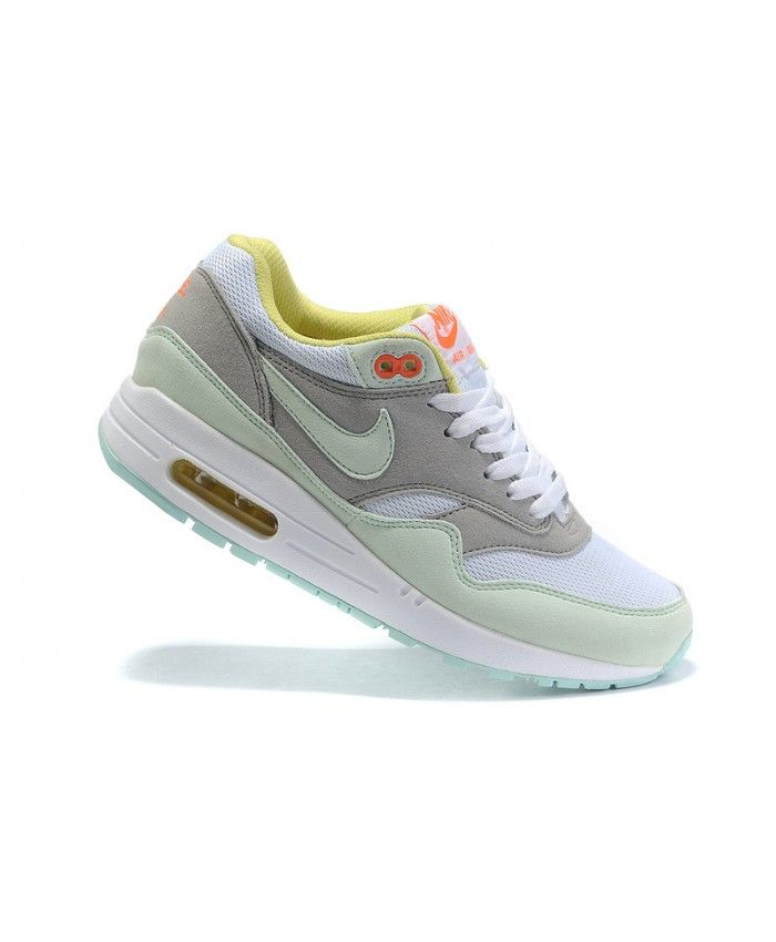 buy online d715e f0256 ... Grey Team Red Women s Nike Air Max 1 Shoes Mint Red Sale ...