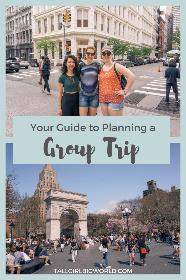 This step-by-step guide walks you through how to plan a group trip with friends. Because planning a trip with friends should be fun, not stressful! #tripplanning #traveltips #grouptrip #travelblog #traveling #grouptravel #VacationFriends
