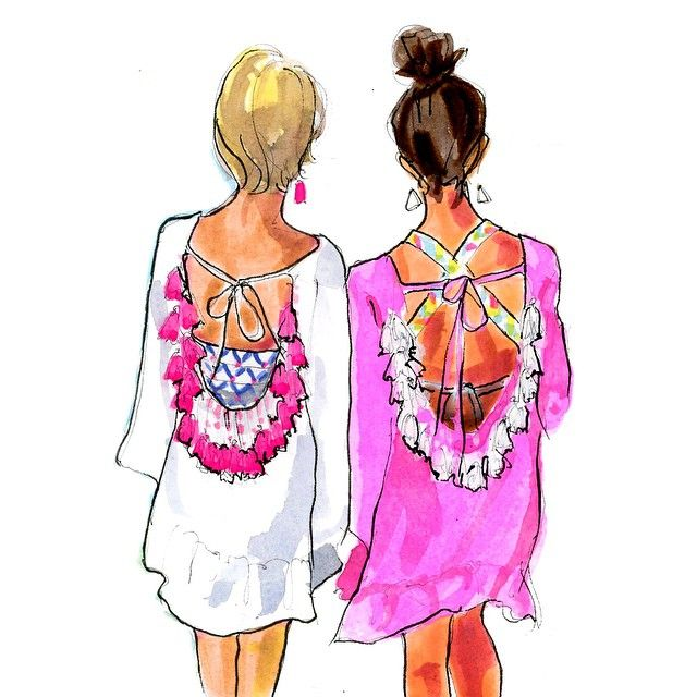 Colourful Girls / Ragazze Colorate - Art by #Inslee Haynes