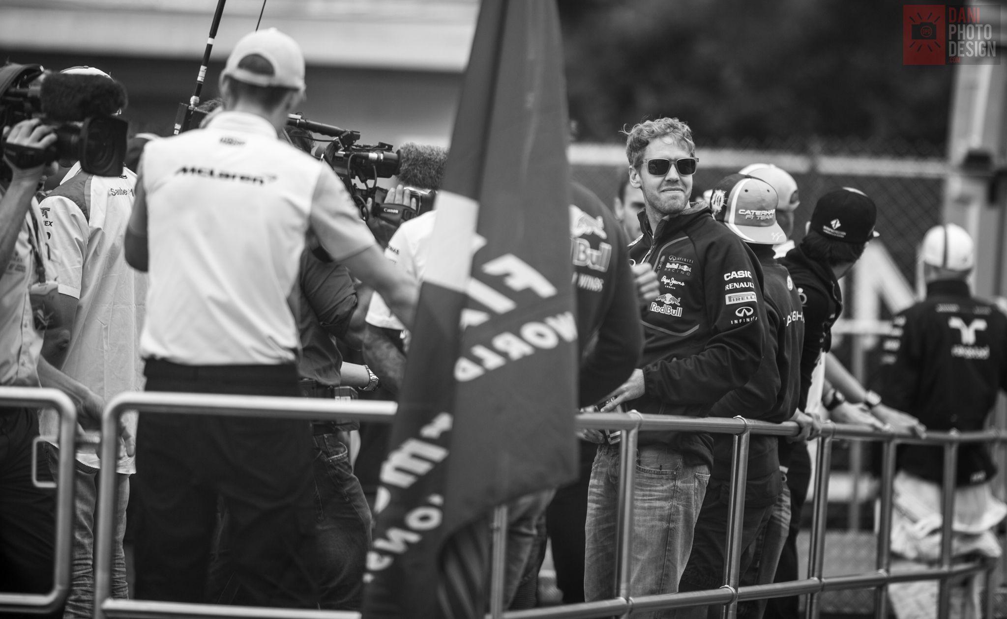 Formula 1 - Sebastian Vettel - GP Monaco Montecarlo 2014 - daniphotodesign.com