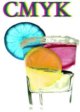 CYMK cocktail