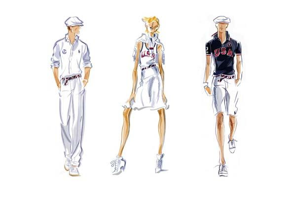 ralph lauren fashion olympics 2012