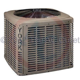 2 5 Ton 13 Seer York Heat Pump Quality Condenser Coils The Coil Is Constructed Of Copper Tubing And Enhanced Aluminum Fins Protected Compressor The Compres