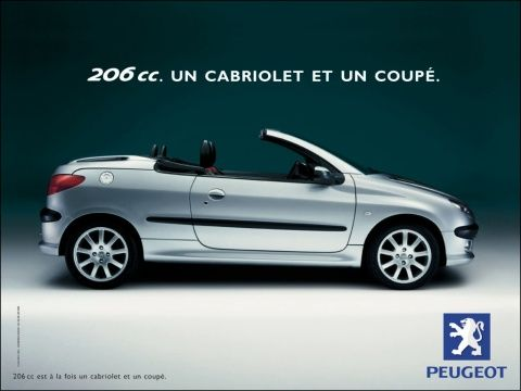 Peugeot Euro Rscg A Convertible A Coupe We Love Ad Peugeot Convertible Coupe
