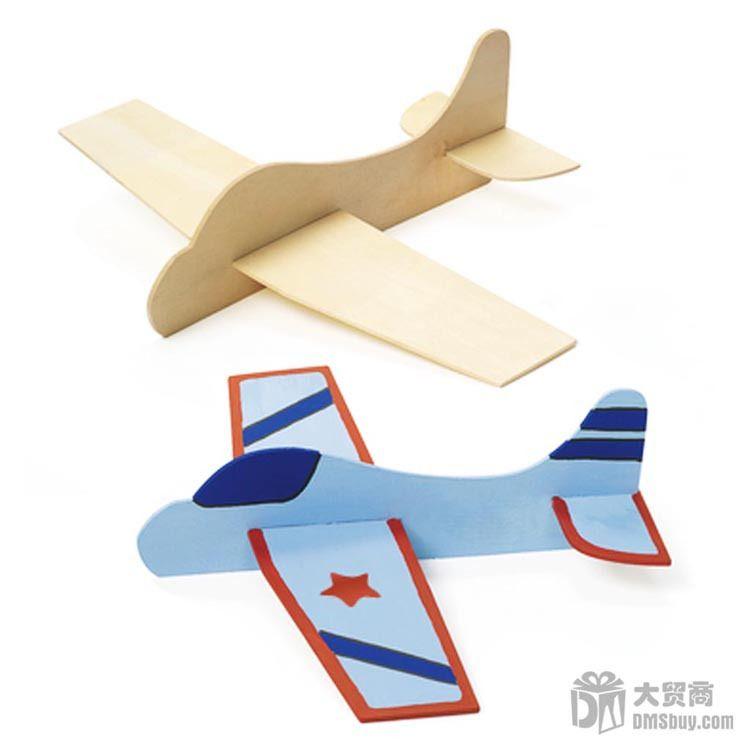 cheap envo gratis unidslote madera diy juguetes avin para los nios divertido