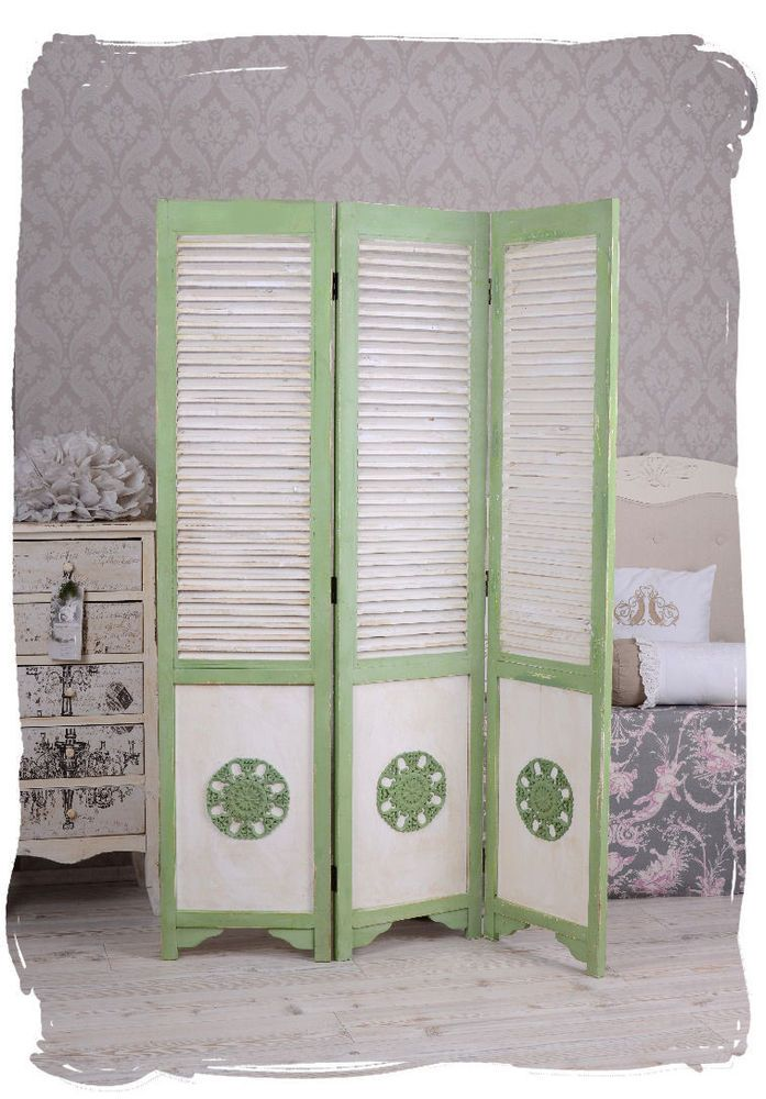 raumteiler shabby chic spanische wand trennwand vintage paravent a1 stuff for my room. Black Bedroom Furniture Sets. Home Design Ideas