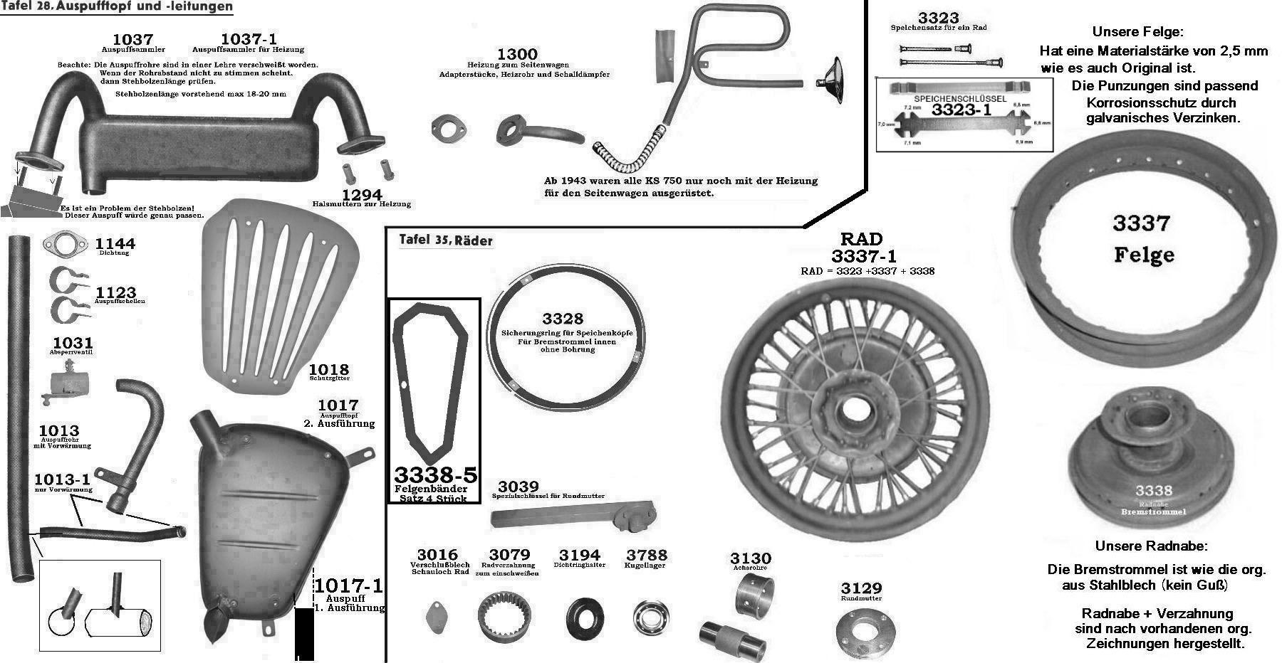 z u00fcndapp ks 750 ersatzteile hans peter hommes  zuendapp ks600 spare parts  zundapp