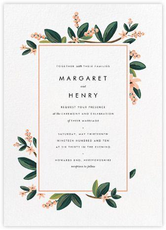 Wedding Invitations Paperless Post Kartu Undangan Pernikahan Kartu Pernikahan Desain Undangan Perkawinan