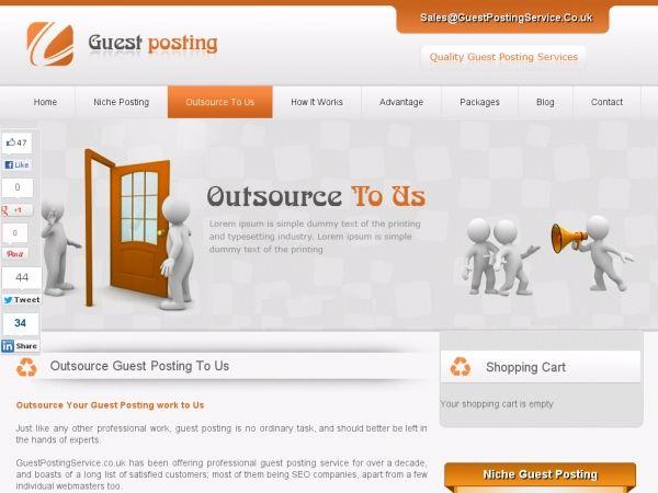 Guest Posting Services UK - Guest Blog Posting Service