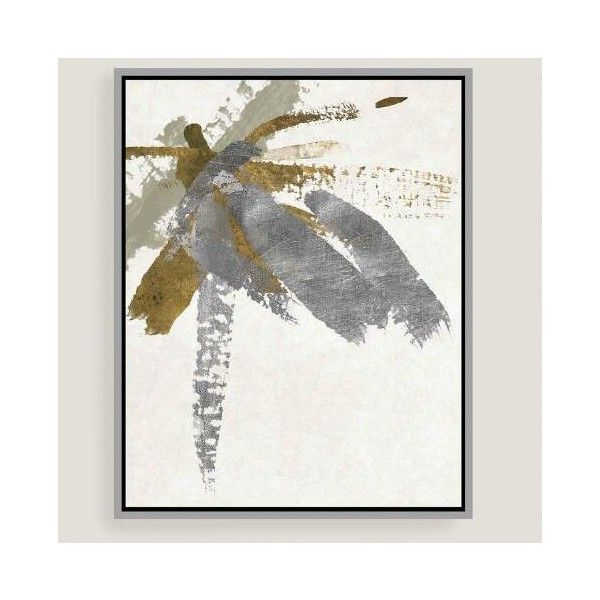 Cost Plus World Market Abstract Brushstrokes Canvas Wall Art with ...