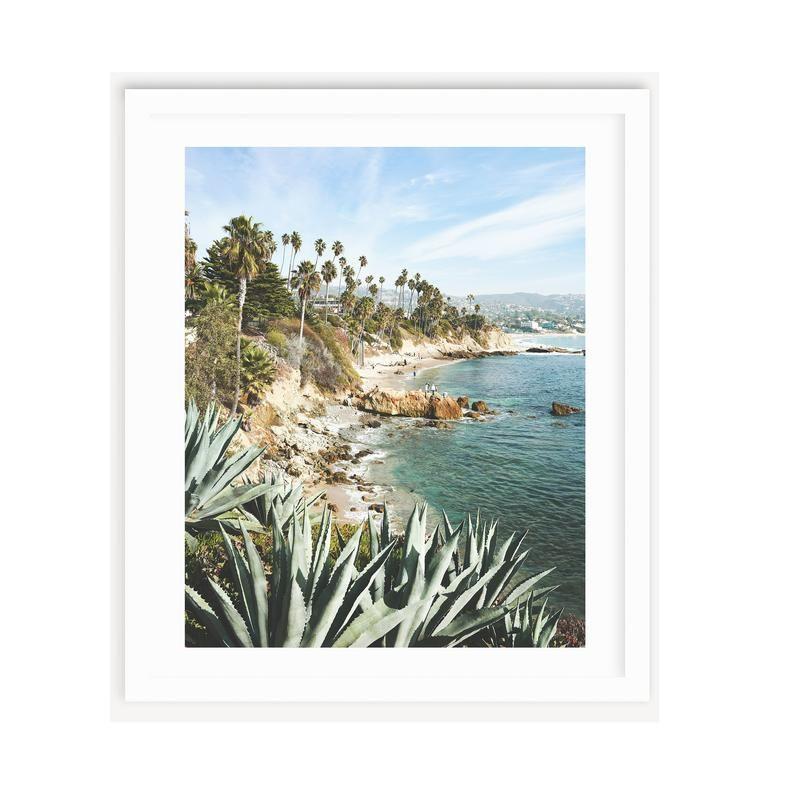 Laguna Beach Print California Beach House Large Beach Print Beach Wall Art Coastal Print Coastal Wall Art Laguna Beach Wall Art California Beach House Beach Wall Art Coastal Wall Art