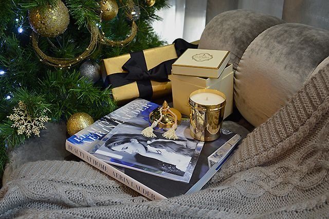 Feu De Beaumont aerin lauder book & feu de beaumont candle #christmas #gifts