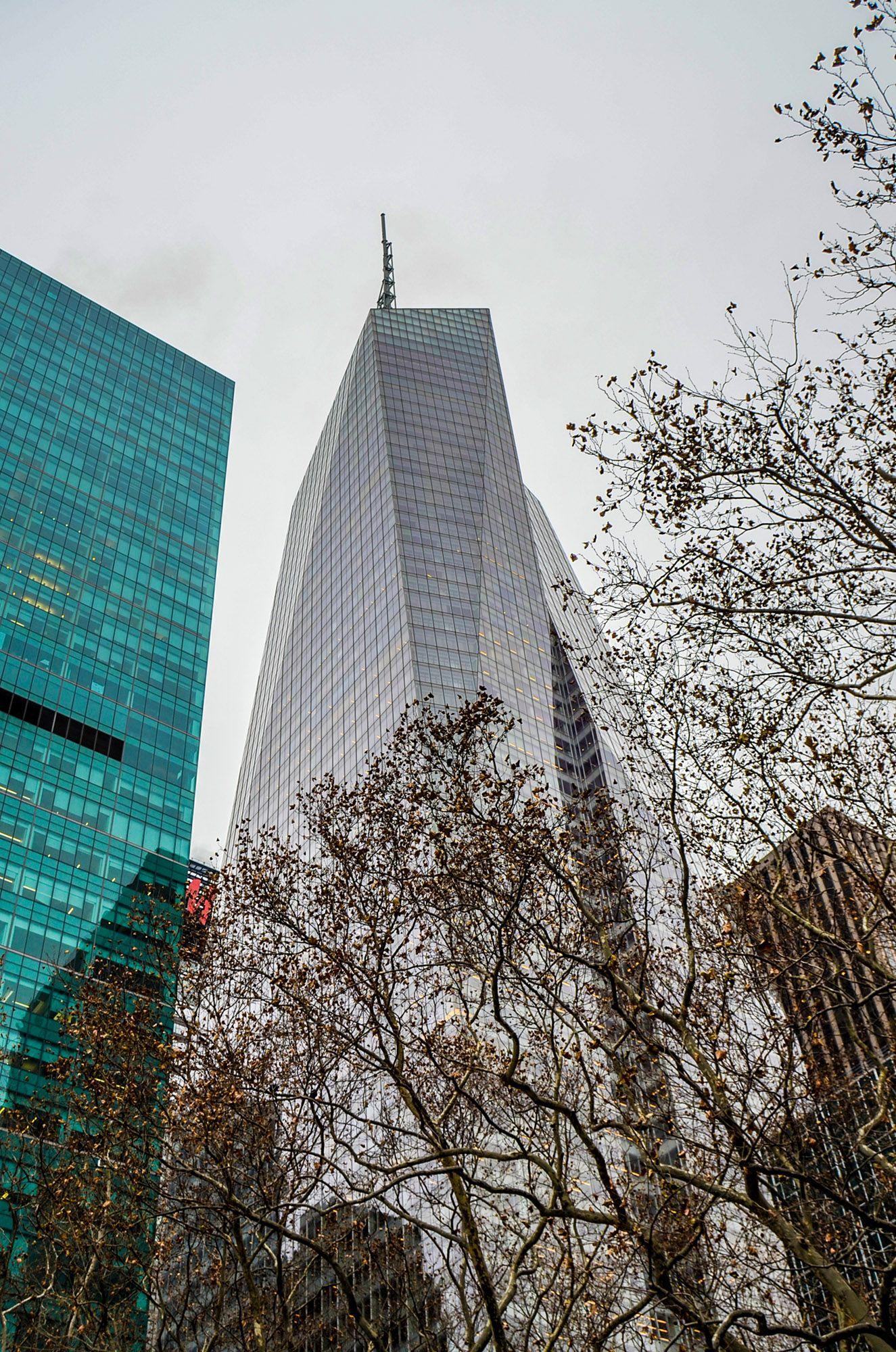 Bank of America, Ruta andando por Manhattan
