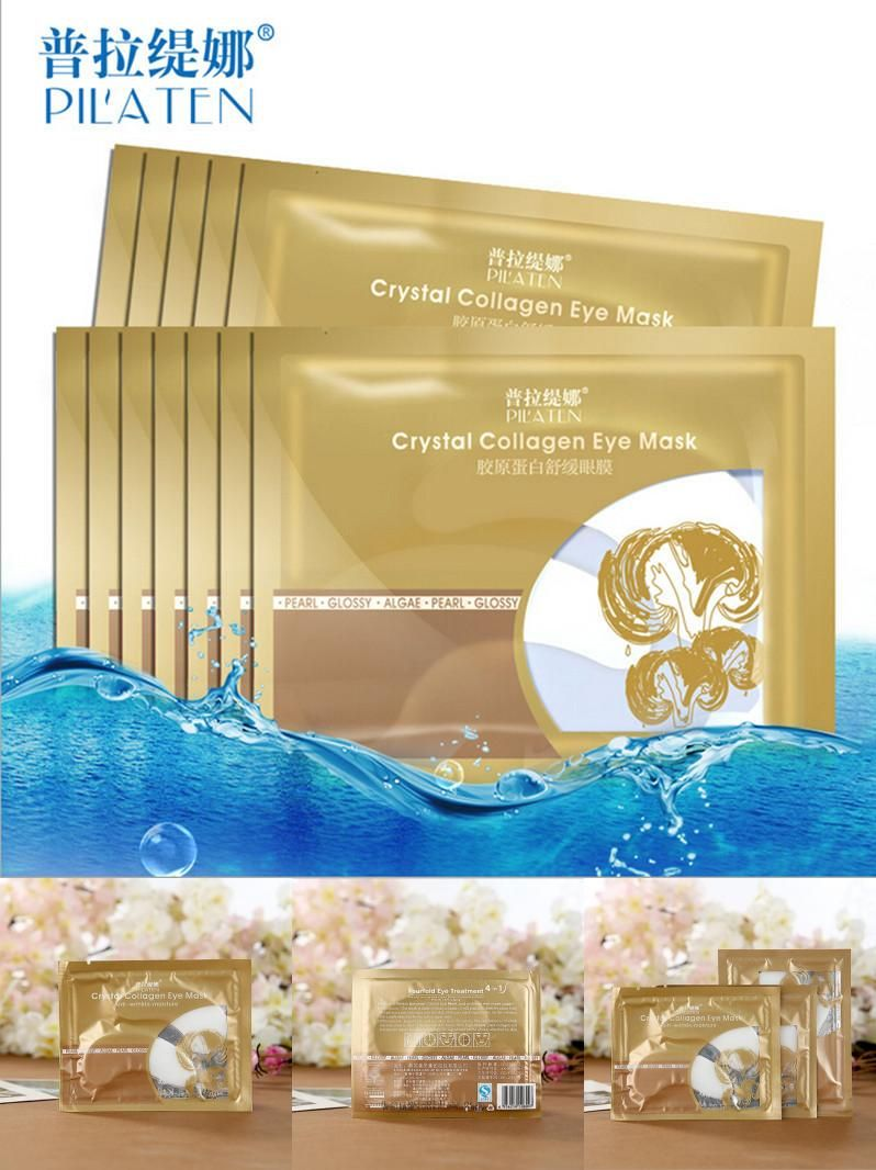 [Visit to Buy] 10 Pair Crystal Collagen Eye Masks for Anti-aging, Anti-puffiness, Dark circle, Anti wrinkle moisture Eyes Care Eye patches #Advertisement