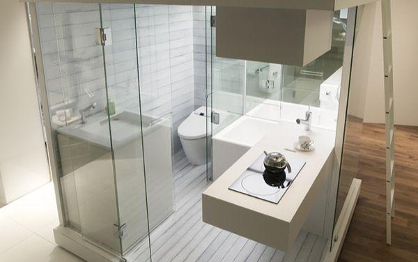 SUBACO-modulo-BAÑO-cocina-loft-compacto-1 | diseño | Pinterest ...