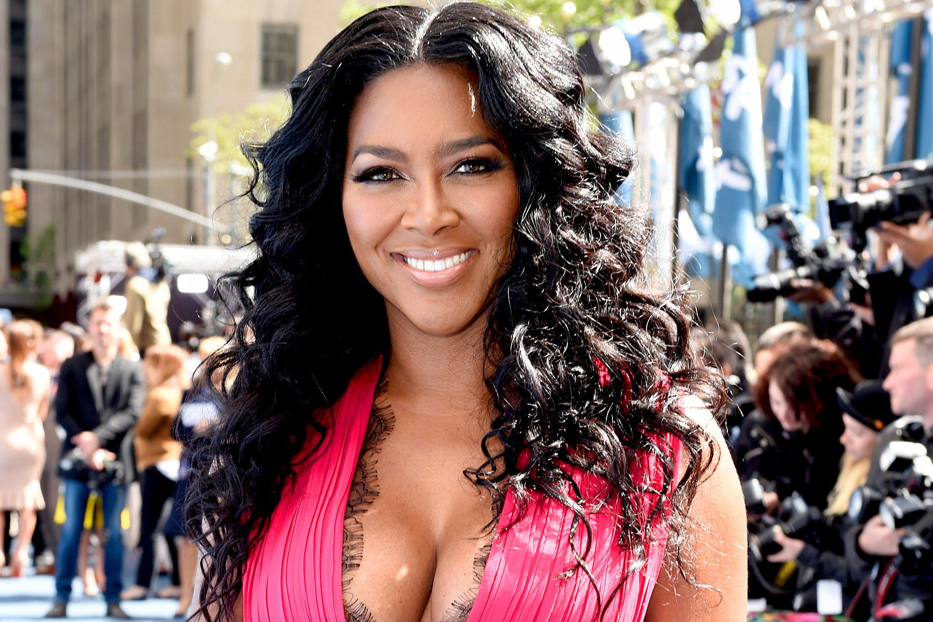 Kenya Moore Pulled Out Her High School Jersey And The Only