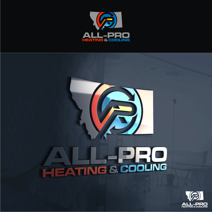 All Pro Heating Logo Design Contest Logo Design House Logo Design