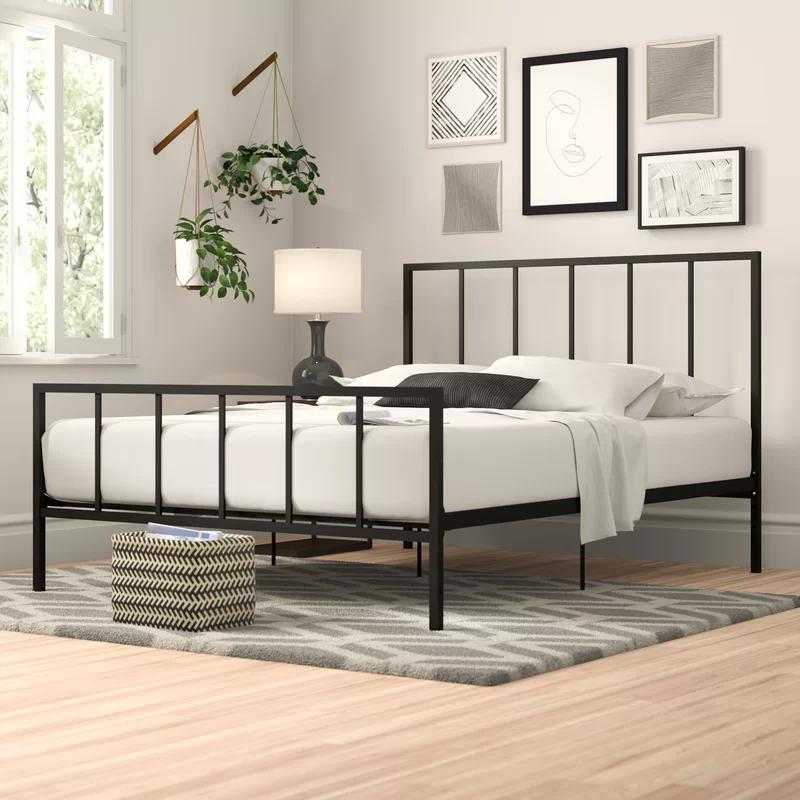 Jarvis Platform Bed Metal Platform Bed Bed Frame Platform Bed